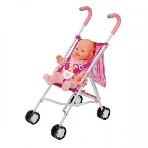Baby Born Коляска-трость с сеткой Бишкек и Ош купить в магазине игрушек LEMUR.KG доставка по всему Кыргызстану