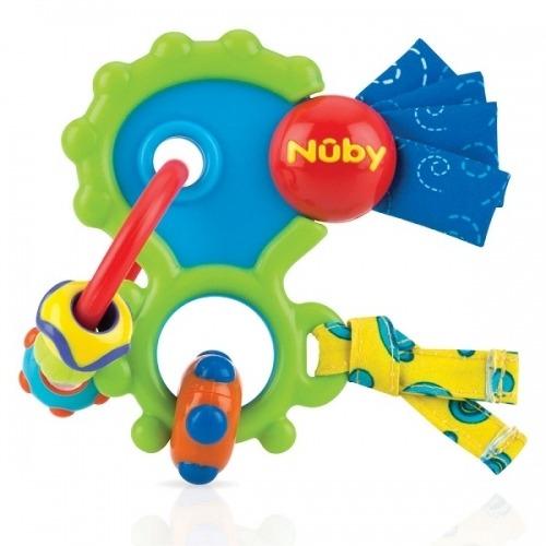 NUBY Мультифактурный прорезыватель 'Сумасшедшее Колечко' Бишкек и Ош купить в магазине игрушек LEMUR.KG доставка по всему Кыргызстану