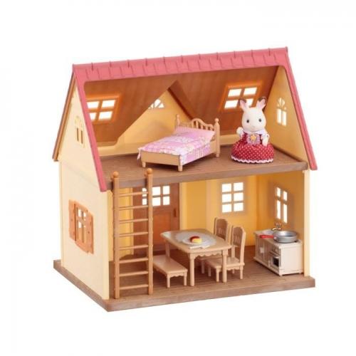 Sylvanian Families 'Дом Марии - с мебелью и фигуркой' Бишкек и Ош купить в магазине игрушек LEMUR.KG доставка по всему Кыргызстану