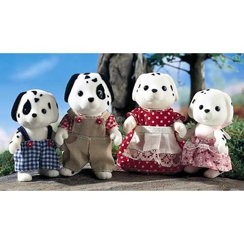 Sylvanian Families 'Семья Далматинов' Бишкек и Ош купить в магазине игрушек LEMUR.KG доставка по всему Кыргызстану