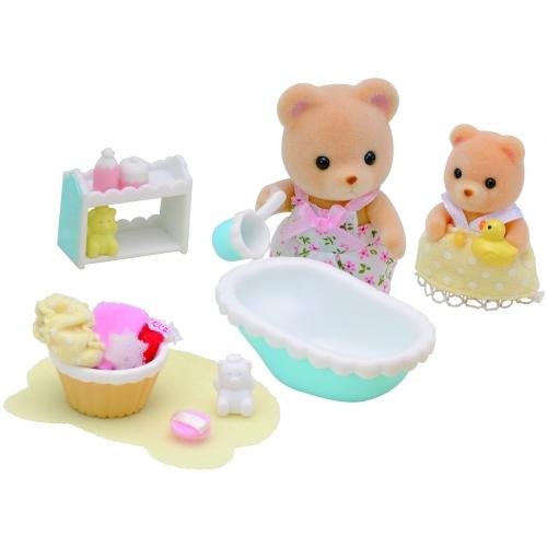 Sylvanian Families 'Мама купает малыша' Бишкек и Ош купить в магазине игрушек LEMUR.KG доставка по всему Кыргызстану
