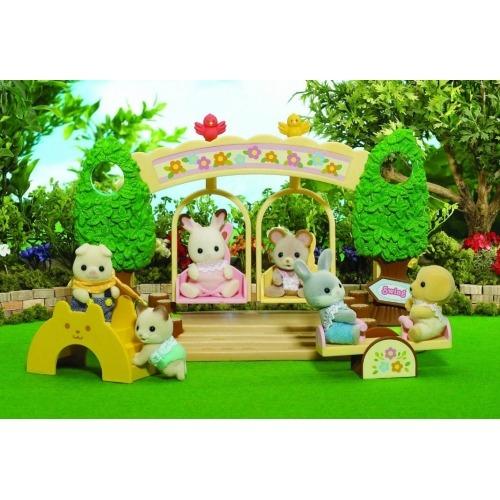 Sylvanian Families 'Детская площадка с качелями' Бишкек и Ош купить в магазине игрушек LEMUR.KG доставка по всему Кыргызстану
