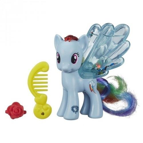 Игровой My Little Pony из серии 'Пони с блестками' Рэйнбоу Дэш Бишкек и Ош купить в магазине игрушек LEMUR.KG доставка по всему Кыргызстану