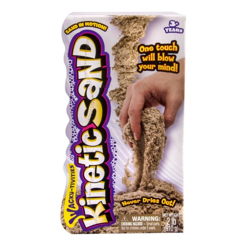 Кинетический песок Kinetic Sand (цвет - коричневый, вес - 910 гр.) Бишкек и Ош купить в магазине игрушек LEMUR.KG доставка по всему Кыргызстану