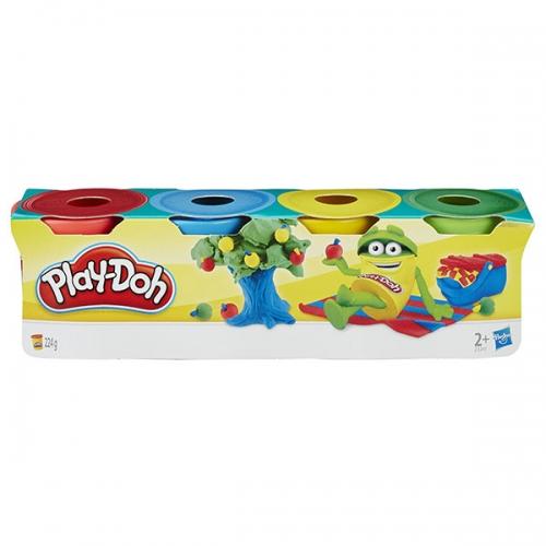 Набор Play-Doh 4 мини баночки Бишкек и Ош купить в магазине игрушек LEMUR.KG доставка по всему Кыргызстану