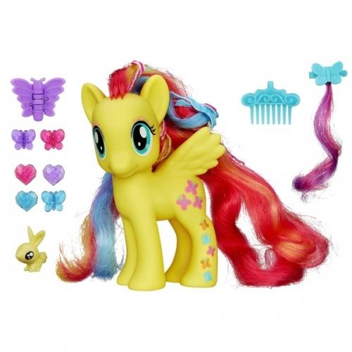 Пони My Little Pony 'Делюкс' Флаттершай Бишкек и Ош купить в магазине игрушек LEMUR.KG доставка по всему Кыргызстану
