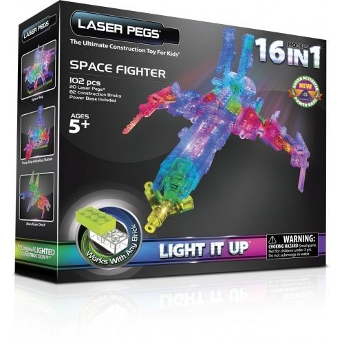 Laser Pegs: 16 в 1. Космос Бишкек и Ош купить в магазине игрушек LEMUR.KG доставка по всему Кыргызстану