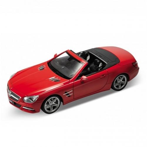 Welly модель машины 1:24 Mercedes-Benz SL500 Бишкек и Ош купить в магазине игрушек LEMUR.KG доставка по всему Кыргызстану