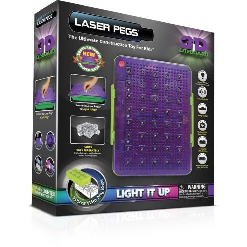 Laser Pegs: 3D Световая Панель Бишкек и Ош купить в магазине игрушек LEMUR.KG доставка по всему Кыргызстану