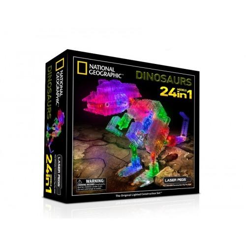 Laser Pegs: 24 в 1. Динозавры Бишкек и Ош купить в магазине игрушек LEMUR.KG доставка по всему Кыргызстану
