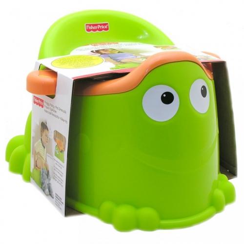 Горшок Fisher-Price 'Зеленая лягушка' Бишкек и Ош купить в магазине игрушек LEMUR.KG доставка по всему Кыргызстану