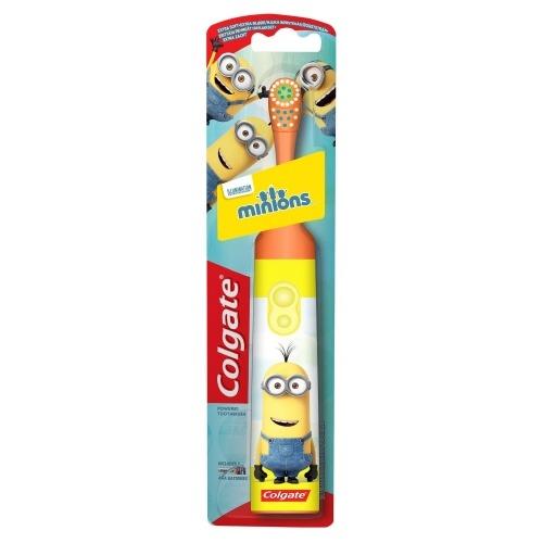 Детская электрическая зубная щетка Colgate Миньоны Бишкек и Ош купить в магазине игрушек LEMUR.KG доставка по всему Кыргызстану
