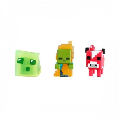 CKH39 Mega Bloks Майнкрафт Набор из 3 фигурок Бишкек и Ош купить в магазине игрушек LEMUR.KG доставка по всему Кыргызстану