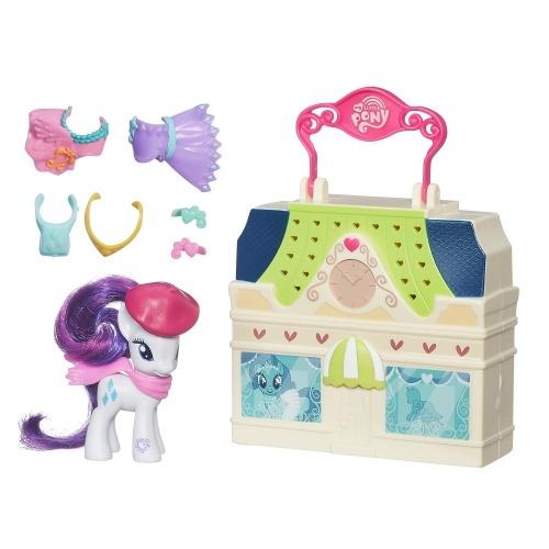 Игровой мини-My Little Pony 'Мейнхеттен' Бишкек и Ош купить в магазине игрушек LEMUR.KG доставка по всему Кыргызстану
