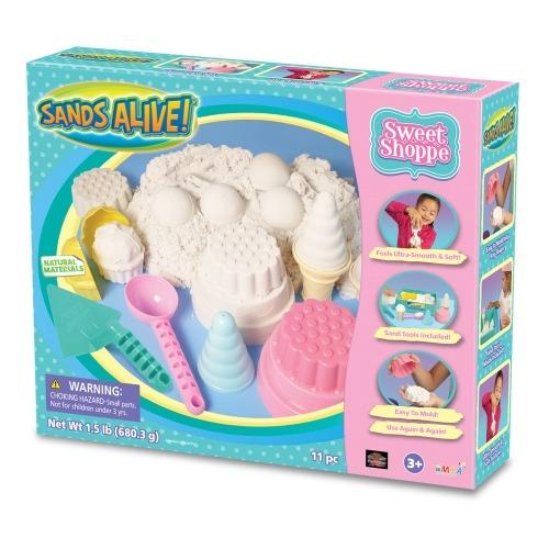 для творчества Sands Alive 'Сластена' (вес - 675 гр.) Бишкек и Ош купить в магазине игрушек LEMUR.KG доставка по всему Кыргызстану
