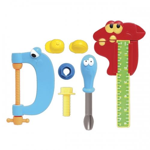 Игровой набор инструментов Boley из 7 шт Бишкек и Ош купить в магазине игрушек LEMUR.KG доставка по всему Кыргызстану