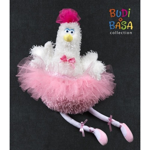 Мягкая игрушка 'Курочка-балерина Жизель' Бишкек и Ош купить в магазине игрушек LEMUR.KG доставка по всему Кыргызстану