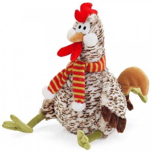 Мягкая игрушка 'Рябой петушок Вова' Бишкек и Ош купить в магазине игрушек LEMUR.KG доставка по всему Кыргызстану