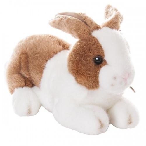 Мягкая игрушка Aurora Кролик коричневый 25 см Бишкек и Ош купить в магазине игрушек LEMUR.KG доставка по всему Кыргызстану