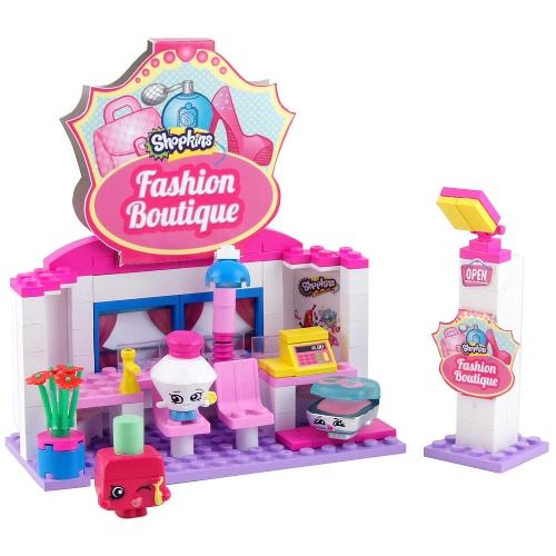 Конструктор Shopkins - Салон красоты, 119 деталей Бишкек и Ош купить в магазине игрушек LEMUR.KG доставка по всему Кыргызстану
