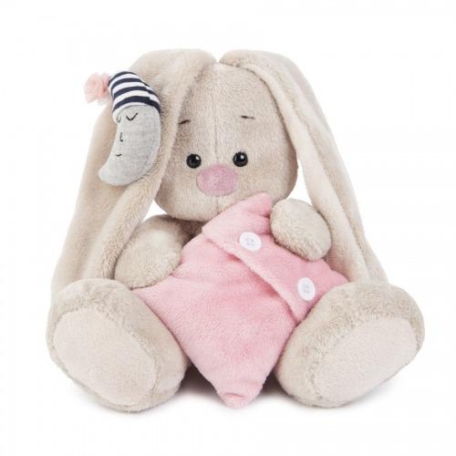 Мягкая игрушка Зайка Ми с подушкой и месяцем (малыш) Бишкек и Ош купить в магазине игрушек LEMUR.KG доставка по всему Кыргызстану