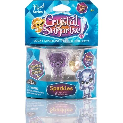 Фигурка Crystal Surprise - Медвежонок Sparkles с 2 подвесками Бишкек и Ош купить в магазине игрушек LEMUR.KG доставка по всему Кыргызстану