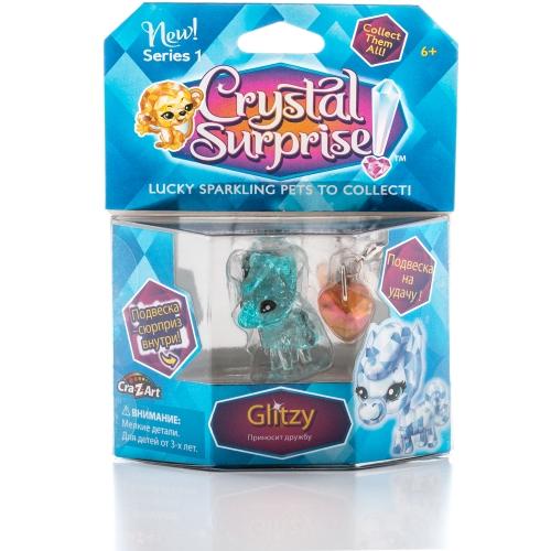 Фигурка Crystal Surprise - Пони Glitzy с 2 подвесками Бишкек и Ош купить в магазине игрушек LEMUR.KG доставка по всему Кыргызстану