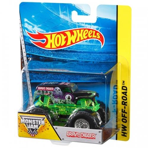 Hot Wheels Машинки 'Monster Jam' (в ассорт.) Бишкек и Ош купить в магазине игрушек LEMUR.KG доставка по всему Кыргызстану
