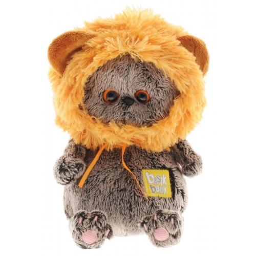 Мягкая игрушка Кот Басик Baby в шапке львенок Бишкек и Ош купить в магазине игрушек LEMUR.KG доставка по всему Кыргызстану