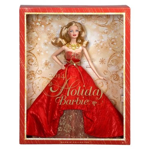 Коллекционная праздничная кукла Барби Бишкек и Ош купить в магазине игрушек LEMUR.KG доставка по всему Кыргызстану
