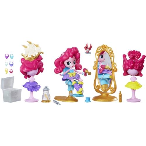 Игровой My Little Pony Equestria Girls Mini 'Салон красоты' - Пинки Пай Бишкек и Ош купить в магазине игрушек LEMUR.KG доставка по всему Кыргызстану
