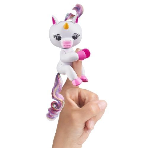 Fingerlings Интерактивный единорог Гига (белый) Бишкек и Ош купить в магазине игрушек LEMUR.KG доставка по всему Кыргызстану