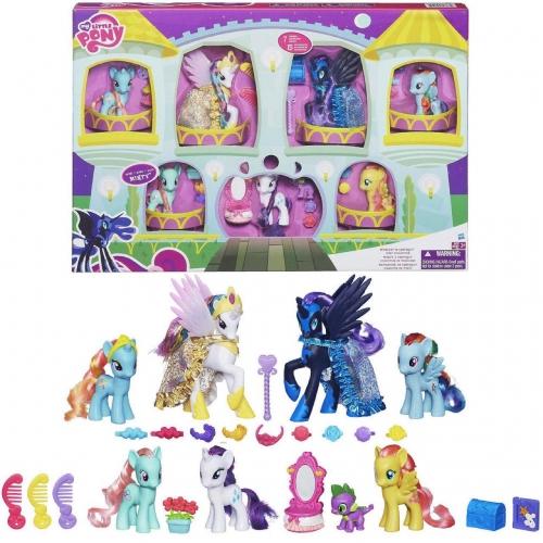 Игровой My Little Pony 'Полночь в Кантерлоте' Бишкек и Ош купить в магазине игрушек LEMUR.KG доставка по всему Кыргызстану