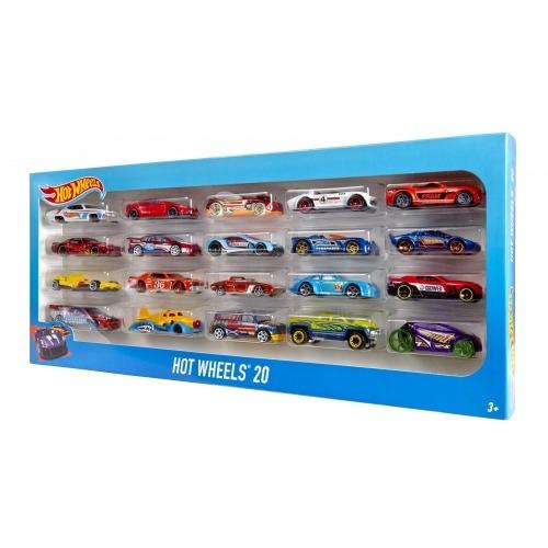из 20 машинок Hot Wheels, 1:64 Бишкек и Ош купить в магазине игрушек LEMUR.KG доставка по всему Кыргызстану