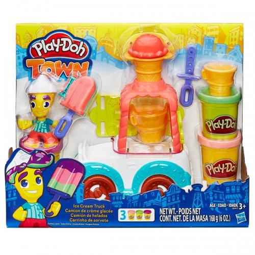 """Набор Play-Doh Город """"Грузовичок с мороженым"""""""