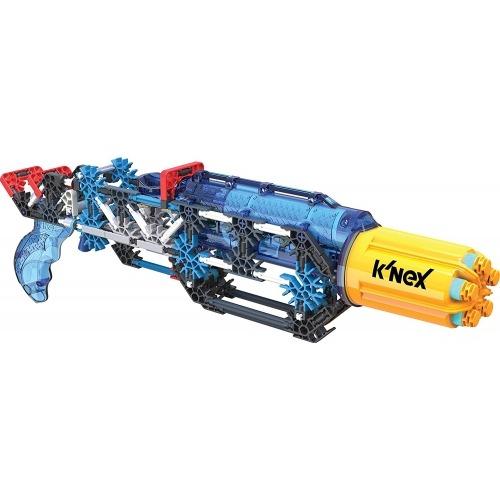 Бластер-конструктор K'NEX K-Force 'K-25X RotoShot', 214 Бишкек и Ош купить в магазине игрушек LEMUR.KG доставка по всему Кыргызстану