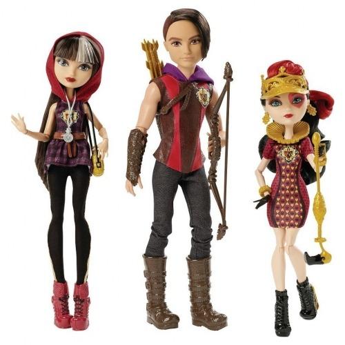 Ever After High из 3 кукол Хантер Хантсмен, Сериз Худ, Лиззи Хартс Бишкек и Ош купить в магазине игрушек LEMUR.KG доставка по всему Кыргызстану