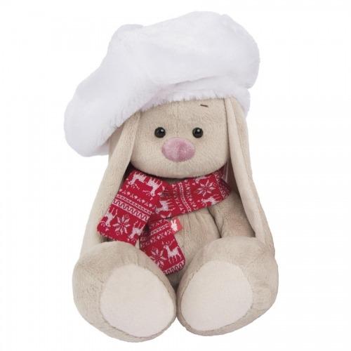Мягкая игрушка Зайка Ми в белом берете (малыш) Бишкек и Ош купить в магазине игрушек LEMUR.KG доставка по всему Кыргызстану