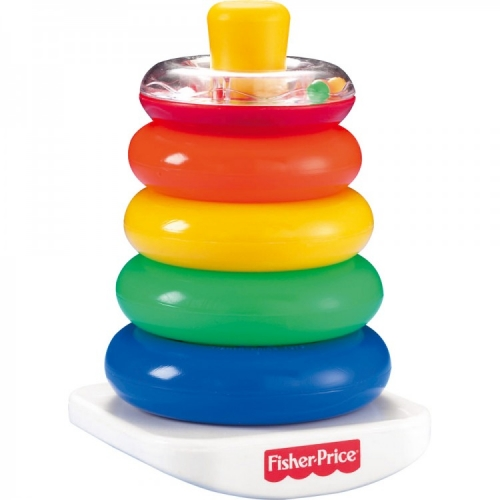 Fisher-Price Классическая пирамида Бишкек и Ош купить в магазине игрушек LEMUR.KG доставка по всему Кыргызстану