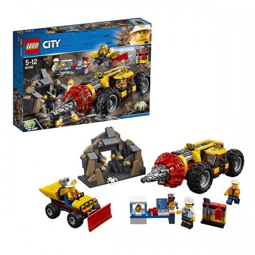 LEGO: Тяжелый бур для горных работ Бишкек и Ош купить в магазине игрушек LEMUR.KG доставка по всему Кыргызстану