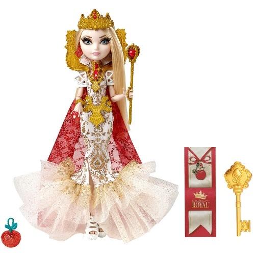 Ever After High Эппл Вайт 'Королева' Бишкек и Ош купить в магазине игрушек LEMUR.KG доставка по всему Кыргызстану