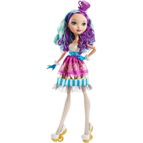 Гигантская кукла 43 см Ever After High Мэделин Хэттер из серии 'Страна Чудес' Бишкек и Ош купить в магазине игрушек LEMUR.KG доставка по всему Кыргызстану
