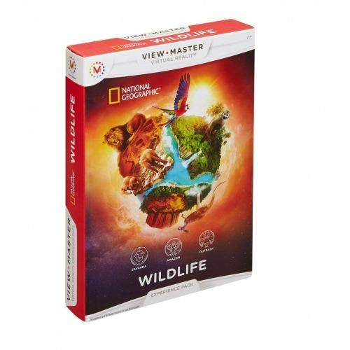 Игра для 3D очков View Master 'Дикая природа' Бишкек и Ош купить в магазине игрушек LEMUR.KG доставка по всему Кыргызстану