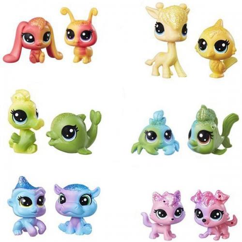 Littlest Pet Shop радужная колллекция 2 радужных пета Бишкек и Ош купить в магазине игрушек LEMUR.KG доставка по всему Кыргызстану