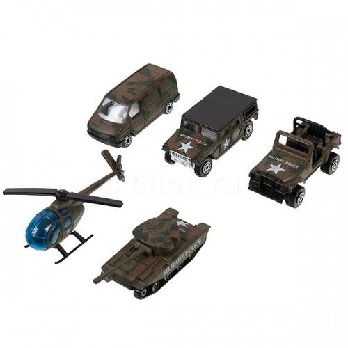 Игровой Welly 'Военно-полицейская команда' 5 шт. Бишкек и Ош купить в магазине игрушек LEMUR.KG доставка по всему Кыргызстану