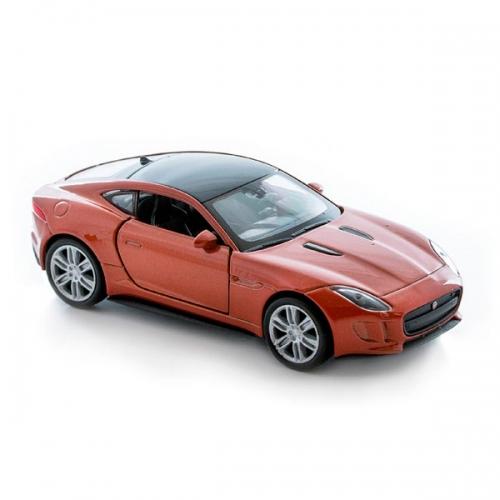 Коллекционная модель Welly Jaguar F-Type Coupe, 1:34-39 Бишкек и Ош купить в магазине игрушек LEMUR.KG доставка по всему Кыргызстану