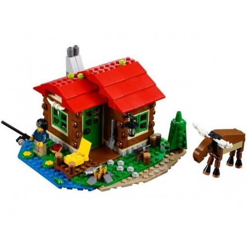 LEGO: Домик на берегу озера Бишкек и Ош купить в магазине игрушек LEMUR.KG доставка по всему Кыргызстану