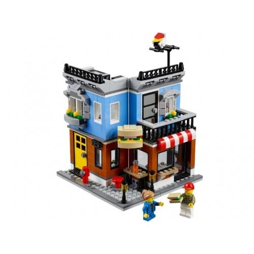 LEGO: Магазинчик на углу Бишкек и Ош купить в магазине игрушек LEMUR.KG доставка по всему Кыргызстану
