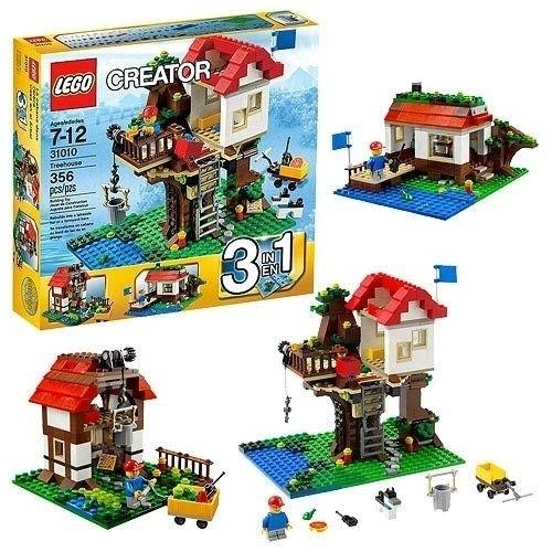 LEGO: Домик на дереве Бишкек и Ош купить в магазине игрушек LEMUR.KG доставка по всему Кыргызстану