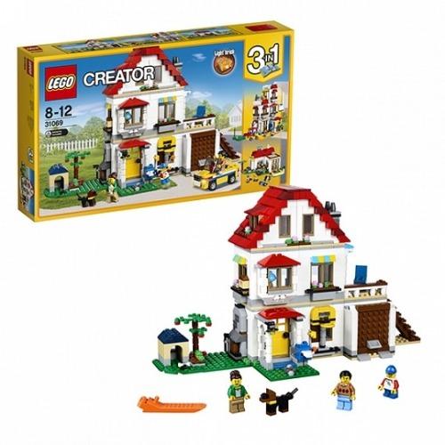 LEGO: Загородный дом Бишкек и Ош купить в магазине игрушек LEMUR.KG доставка по всему Кыргызстану